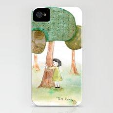Tree Lover Slim Case iPhone (4, 4s)