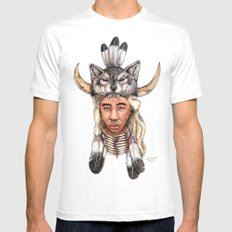 WOLF / Tyler, The Creator Mens Fitted Tee White MEDIUM