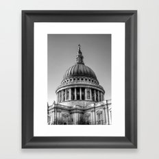 St Pauls, London Framed Art Print