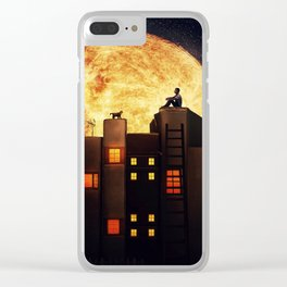 Tell Me a Story... Clear iPhone Case