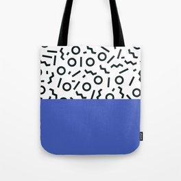 Memphis pattern 44 Tote Bag