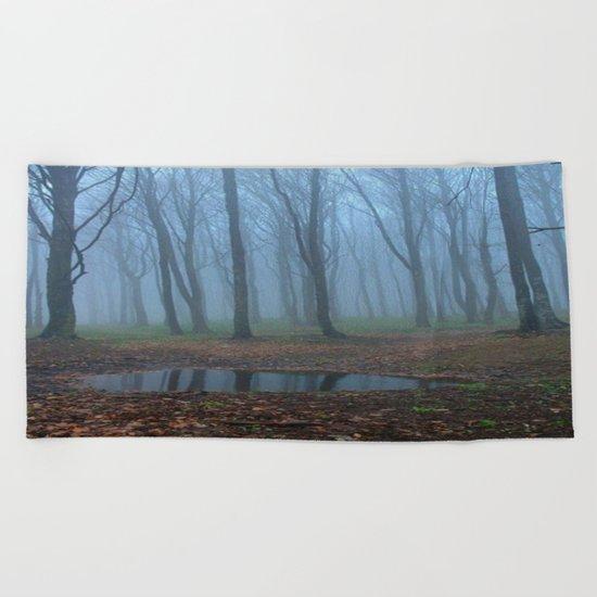 forest Beach Towel