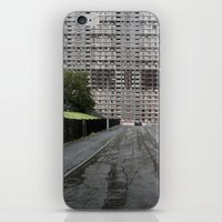 scotland iPhone & iPod Skins featuring Glasgow Scotland  by Sanchez Grande