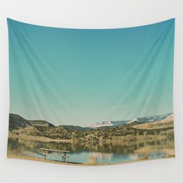 Wide Hollow Reservoir Wall Tapestry