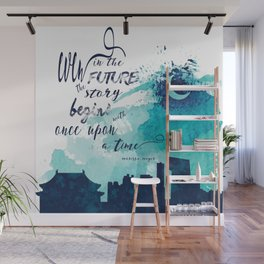 The Lunar Chronicles Quote Wall Mural