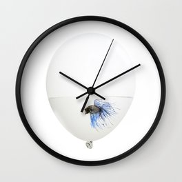 Fish trap Wall Clock