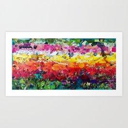 Happy - Carlsbad Flower Fields Art Print