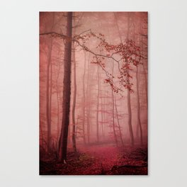 Rose Red's Forest Canvas Print