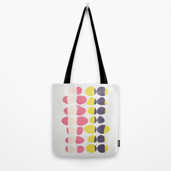Painted Pebbles 3 Tote Bag