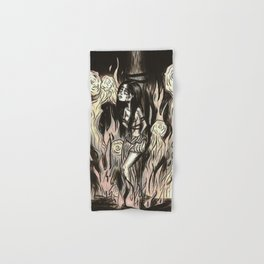 Burn the witch! Hand & Bath Towel