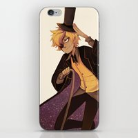 bill cipher iPhone & iPod Skins featuring bill cipher by Sunny