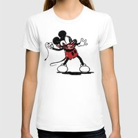 banksy T-shirts featuring Banksy Mouse by luis pippi