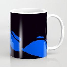 Seductive Look Blue & Black Coffee Mug