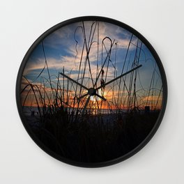 Seaside Sway Wall Clock