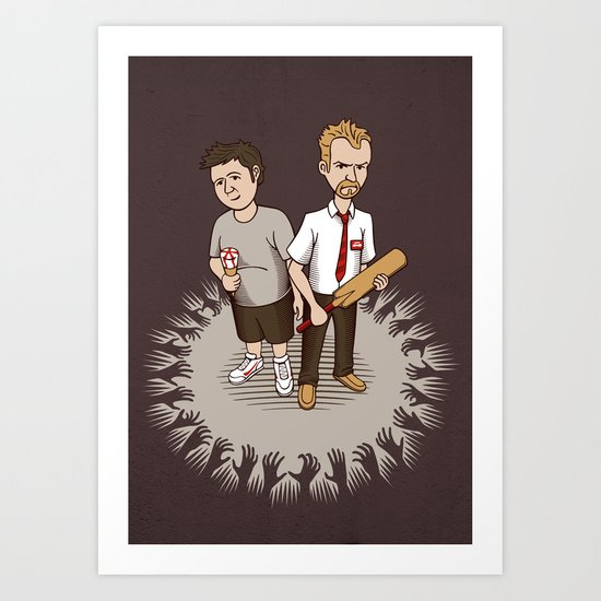 Strawberry Cornetto? Art Print