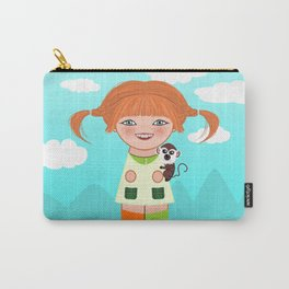 Kokeshi Pippi Carry-All Pouch