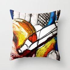 Red Still Life Throw Pillow