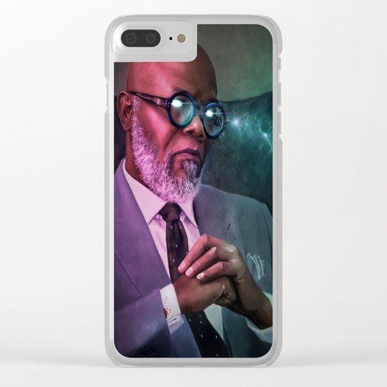 "Samuel ""The Warlock"" L. Jackson Clear iPhone Case"