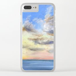 Heavenly Skies Clear iPhone Case