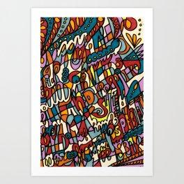 Jammin' Good Art Print