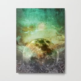 MOON under MAGIC SKY X Metal Print