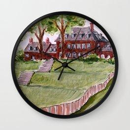 Carter's Grove in Williamsburg, VA Wall Clock