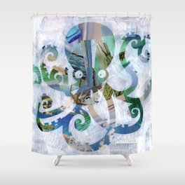 For the love of Octopus Shower Curtain