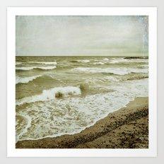 seafoam Art Print