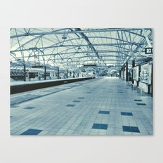 LRT Station  Canvas Print