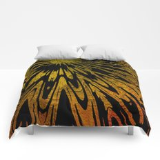 Native Tapestry in Gold Comforters