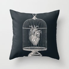 Free My Heart Throw Pillow