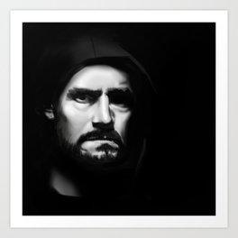 CM Punk Art Print