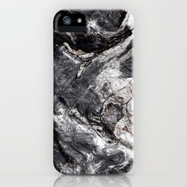Marbled Wood - Photography by Fluid Nature iPhone Case