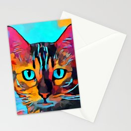 Cat 10 Stationery Cards