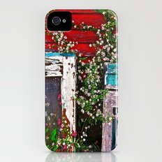Window Flowers iPhone (4, 4s) Slim Case