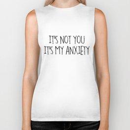 Anxiety Biker Tank