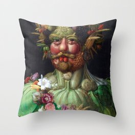 Giuseppe Arcimboldo Vertumnus Throw Pillow