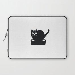 Surprised cat! Laptop Sleeve