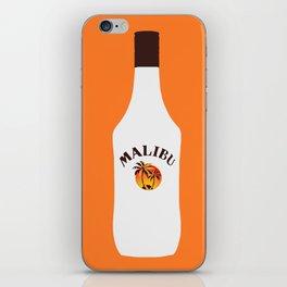 Malibu Bottle iPhone Skin