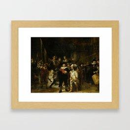 "Rembrandt Harmenszoon van Rijn, ""The Night Watch"", 1642 Framed Art Print"