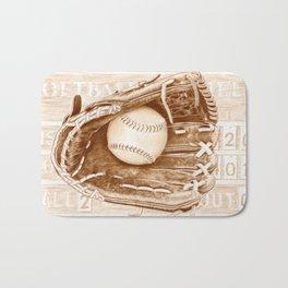 Softball Bath Mat