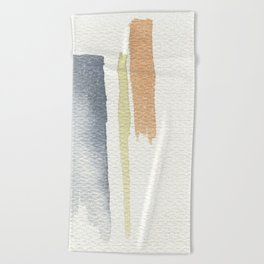 tri-color Beach Towel
