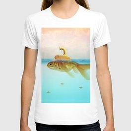 Submarine Goldfish T-shirt