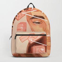 Disconnected Brain Tetris Backpack