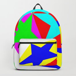 Half Dodecahedron Stars Backpack