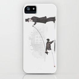 Walking the Dog iPhone Case