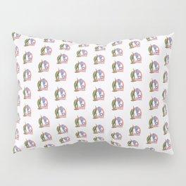 pattern astronaut helmet Pillow Sham