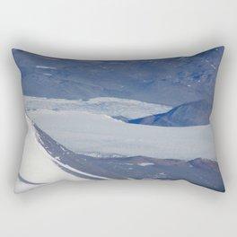 Antarctic Rock Formation Rectangular Pillow