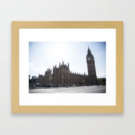 Palace of Westminster Framed Art Print