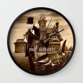 Professor Fate II Wall Clock